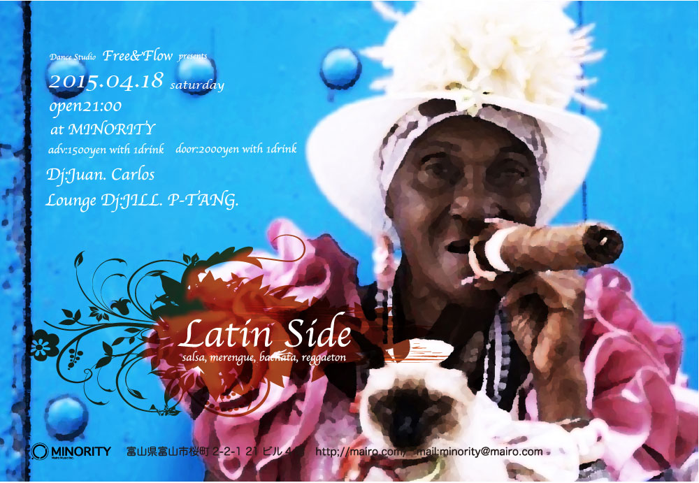 4/18@MINORITY Latin Side